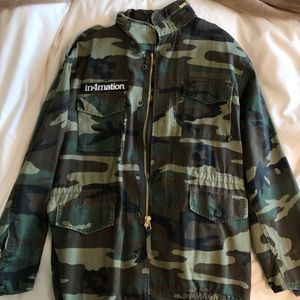 IN4ATION Military Coat